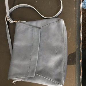 e2dfddba96 Ecco Bags | Kauai Medium Black Leather Saddle Bag | Poshmark